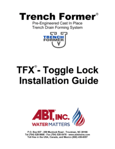 TFX Toggle Lock Installation Guide
