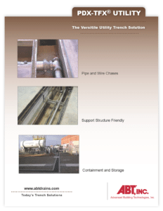 Utility Trench Catalog