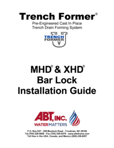 MHD-XHD Bar Lock Installation Guide